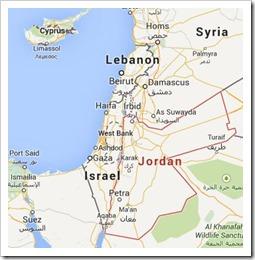 google map jordan