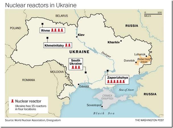 ukraine reactors
