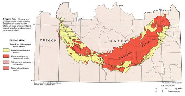Idaho SR aquifer