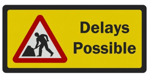 Expect Delays Road Sign image |Electronic Highway Signs Expect Delays