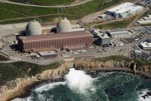 Aerial view of the Diablo Canyon Nuclear Power Plant.