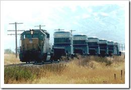 spent fuel train idaho