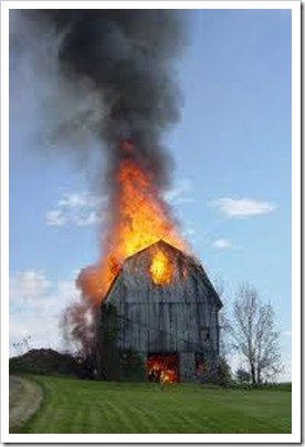 barn 2 burning