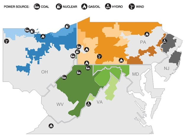 first energy generateion map