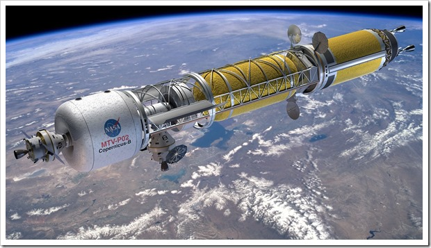 nuclear propulsion rocket