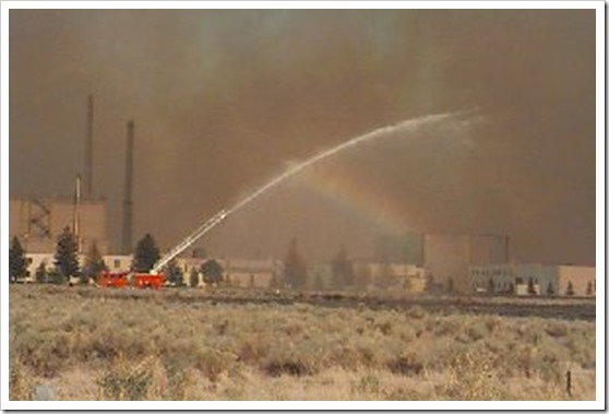 ineel wildland fire summer 2000