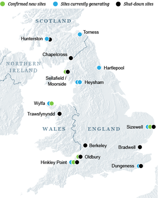 nuclear power in the UK