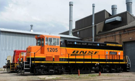 BNSF fuel cell powered locomotive