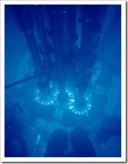 Chernkov radiation at the Advanced_Test_Reactor