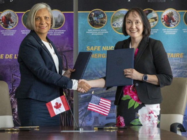 CNSC NRC agree to collaboration