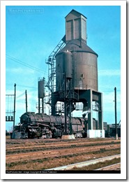 coal tower for steam locomotive