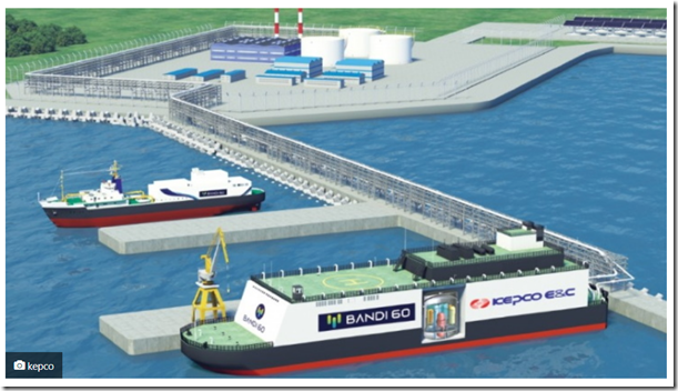 kepco floating nuclear barge