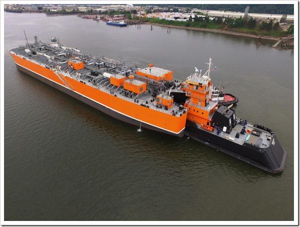Ocean tug and barge engineering