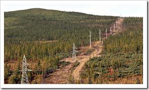 siberian power line